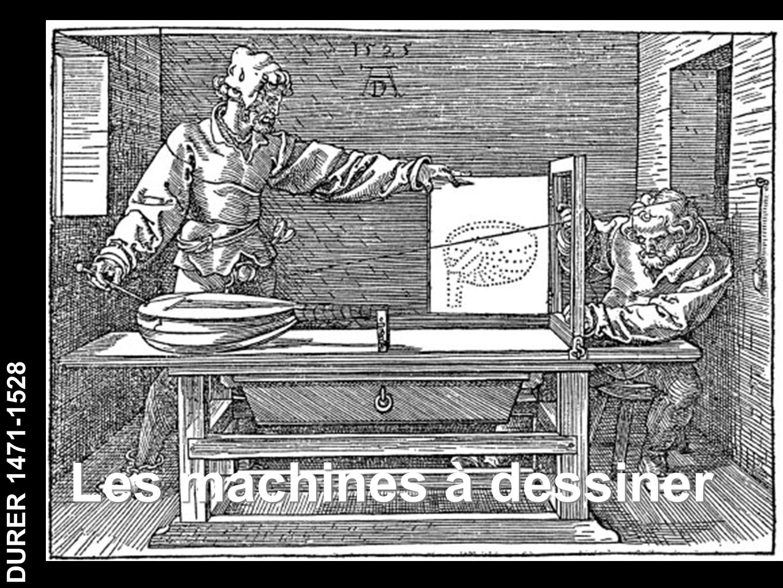 DURER 1471-1528 Les machines à dessiner