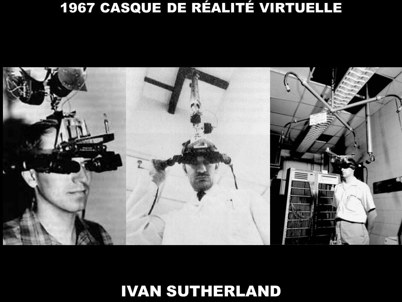 IVAN SUTHERLAND 1967 CASQUE DE RÉALITÉ VIRTUELLE