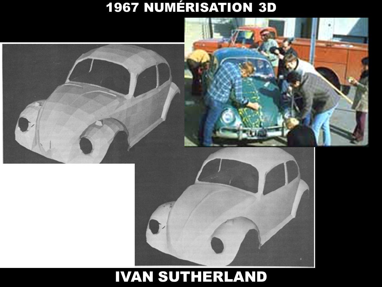 IVAN SUTHERLAND 1967 NUMÉRISATION 3D