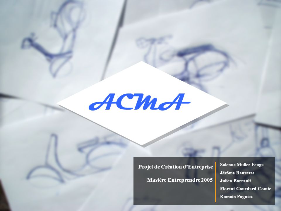 ACMA Aspects Financiers