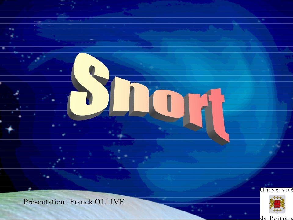 F. OLLIVEVersion 1 - 27-03-2000 Présentation : Franck OLLIVE