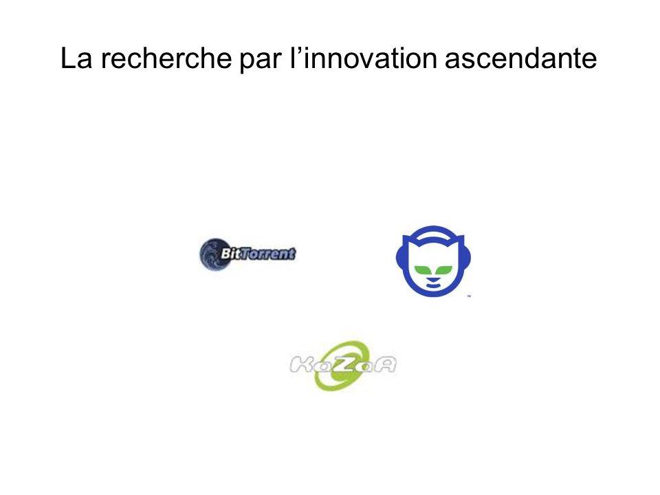 La recherche par l'innovation ascendante