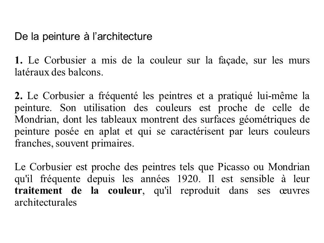 L invention du Modulor Le Corbusier voulait que sa cité soit un lieu agréable et harmonieux.