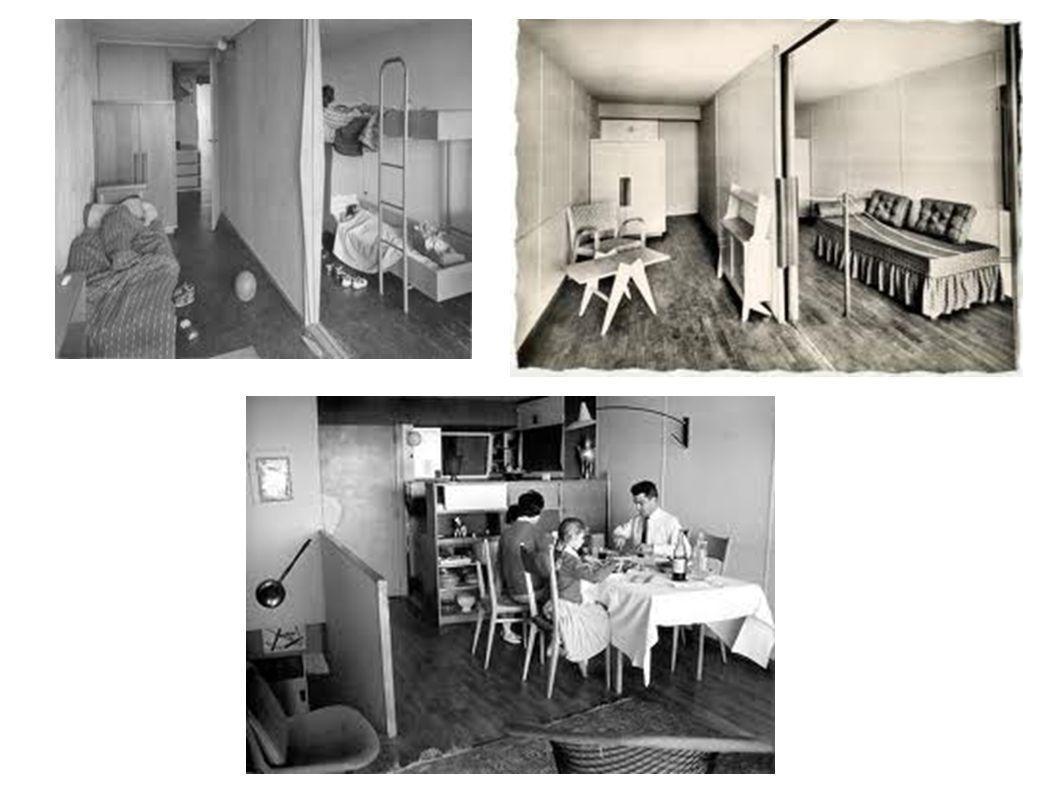Avec Le Corbusier, l'architecture devient essentiellement fonctionnelle et modulable.