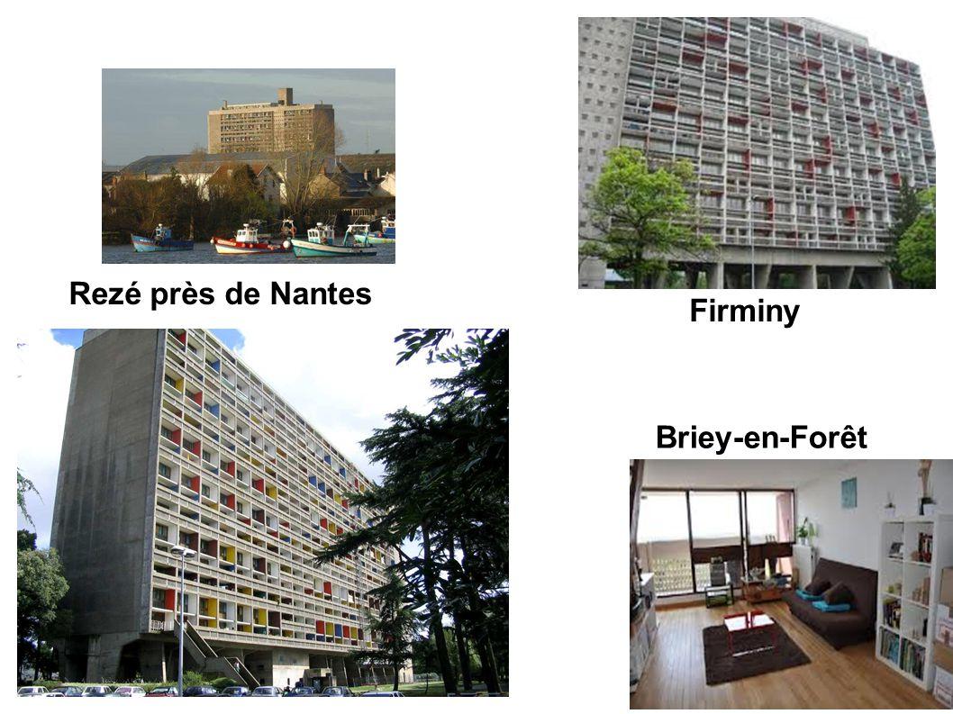 Rezé près de Nantes Firminy