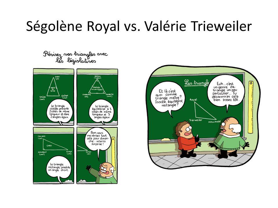 Ségolène Royal vs. Valérie Trieweiler
