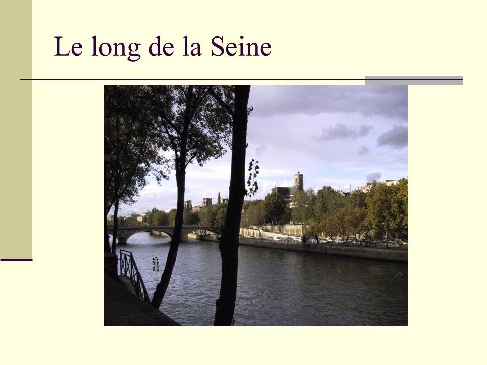 L'Île Saint-Louis Nous allons faire la promenade de Momo et de monsieur Ibrahim à Paris.