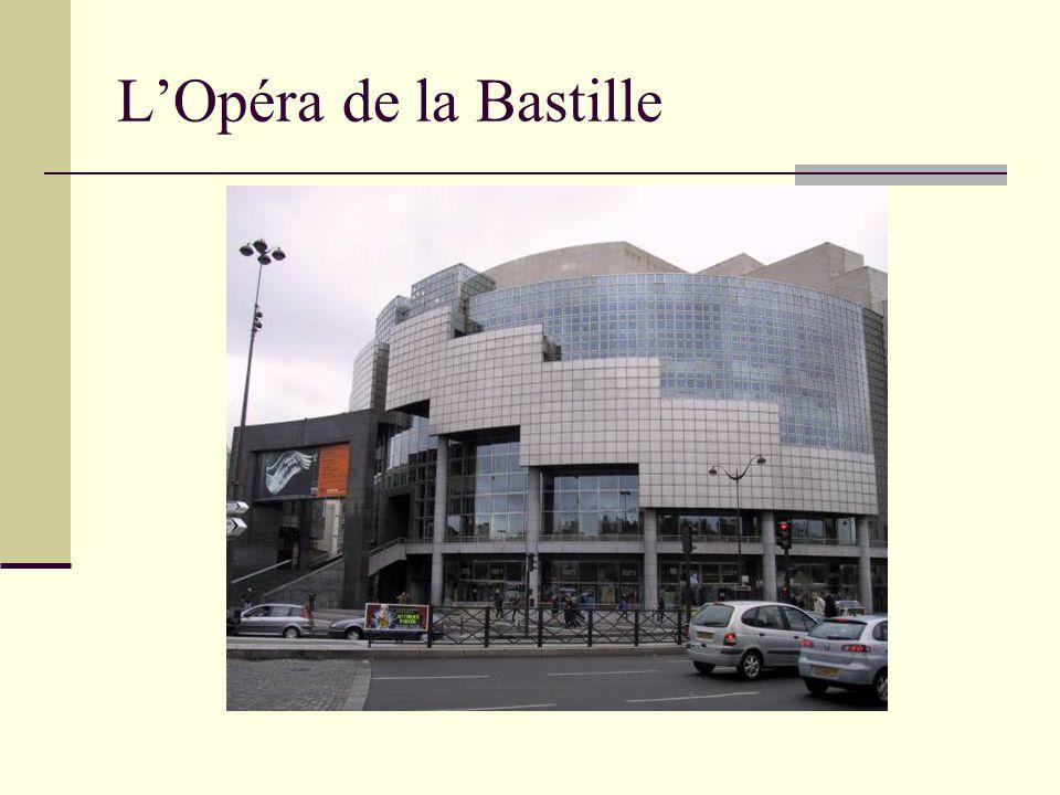 L'Opéra de la Bastille