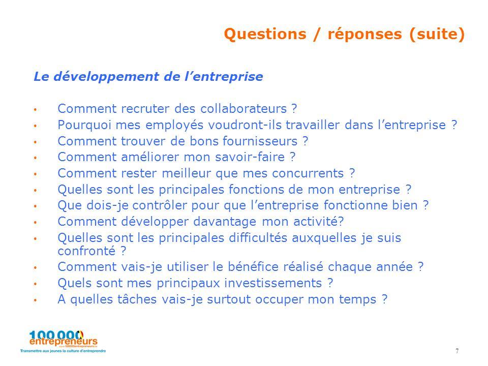 Le développement de l'entreprise Comment recruter des collaborateurs ? Pourquoi mes employés voudront-ils travailler dans l'entreprise ? Comment trouv