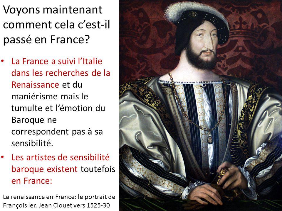 Voyons maintenant comment cela c'est-il passé en France.