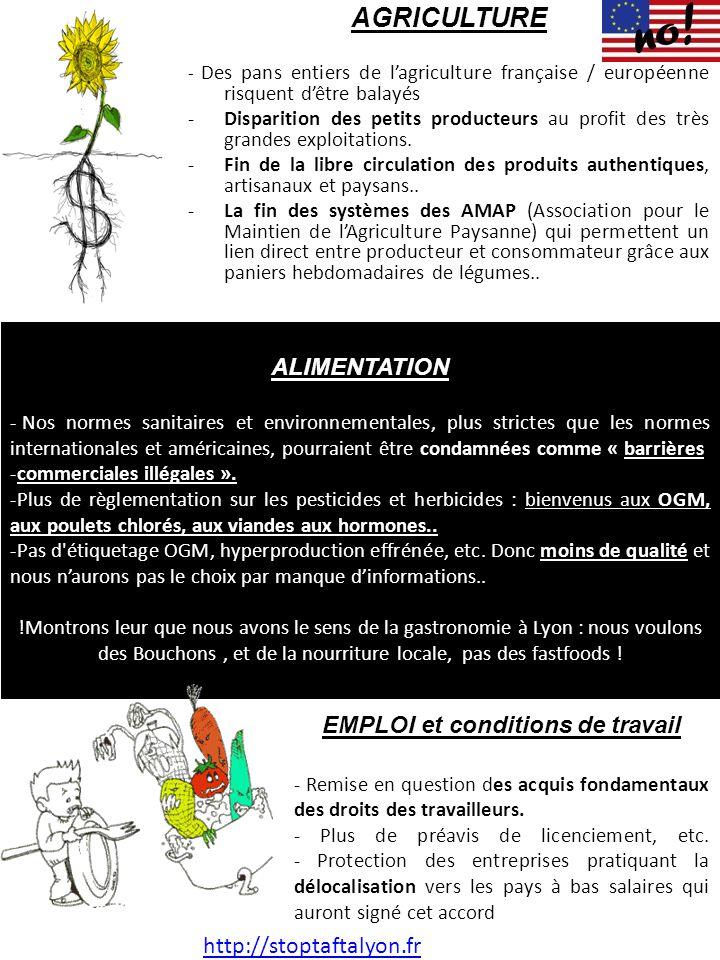 AGRICULTURE - Des pans entiers de l'agriculture française / européenne risquent d'être balayés -Disparition des petits producteurs au profit des très