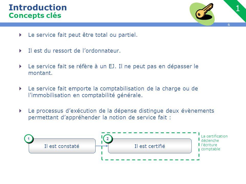 6  Le service fait peut être total ou partiel. Il est du ressort de l'ordonnateur.