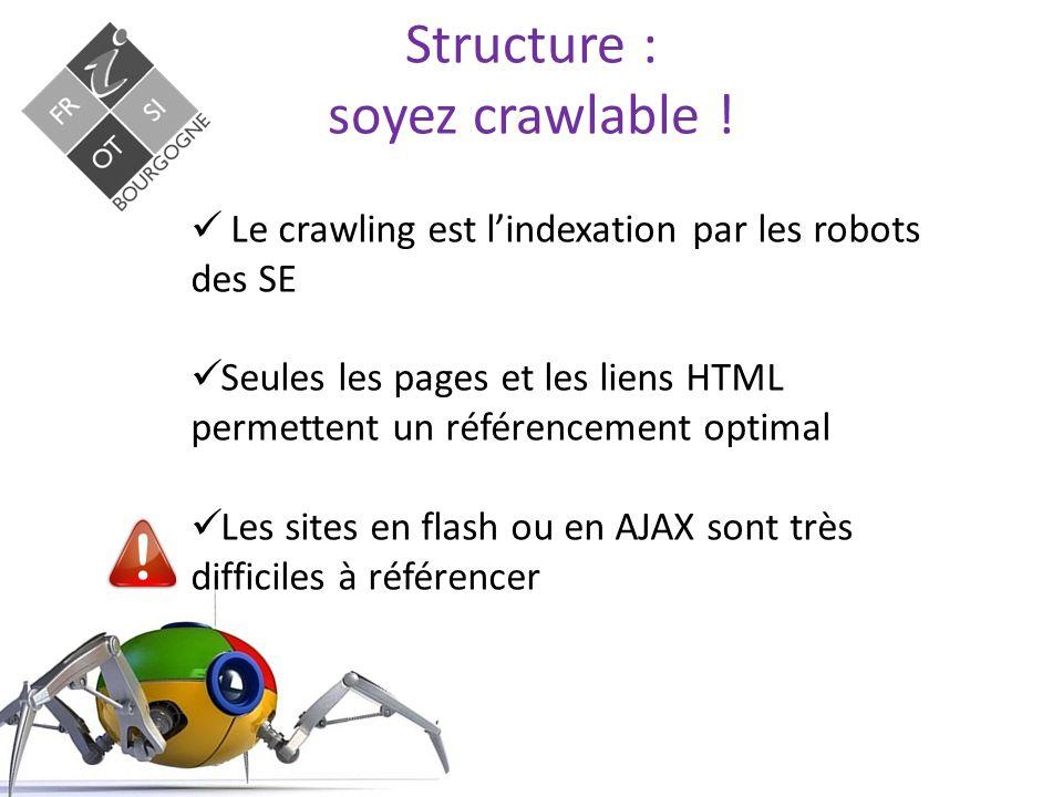 Structure : soyez fiable .