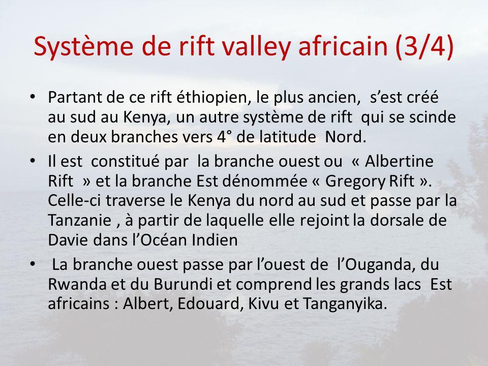 Système de rift valley africain (4/4)