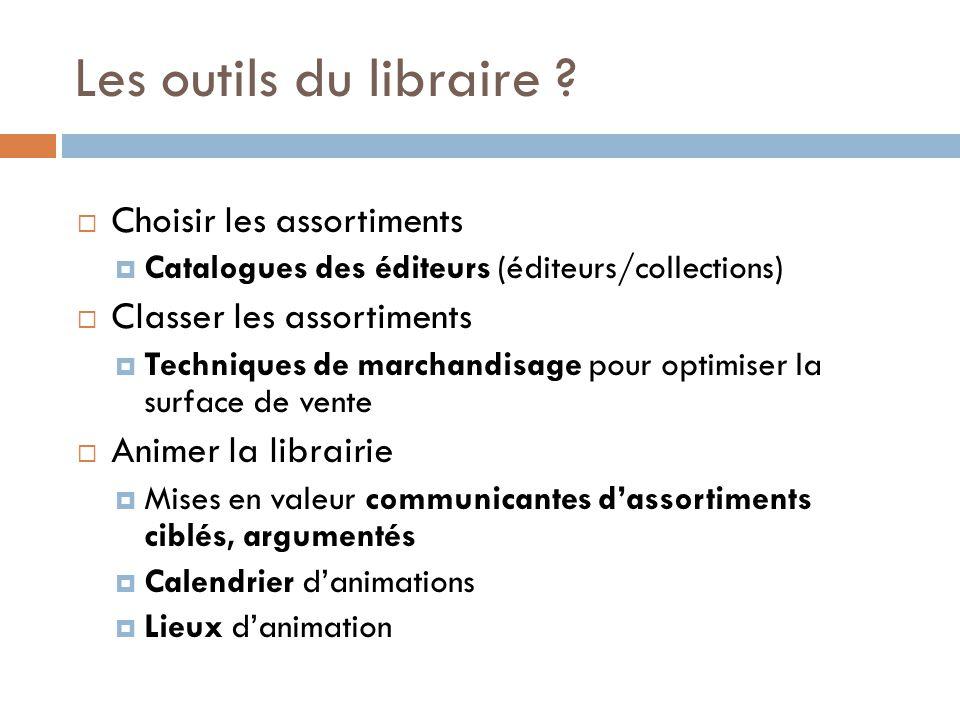 Les outils du libraire .