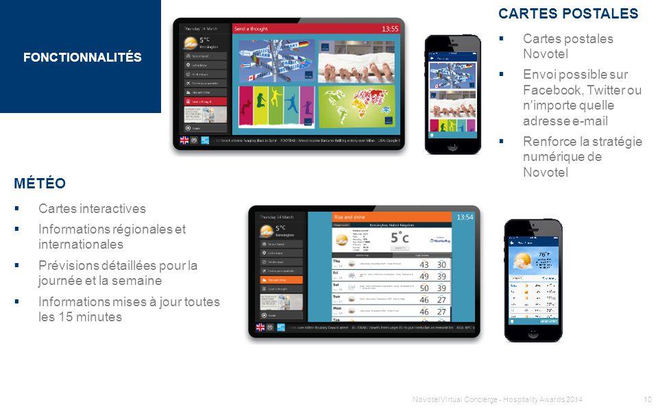 SECTION 1 TITRE FONCTIONNALITÉS MÉTÉO  Cartes interactives  Informations régionales et internationales  Prévisions détaillées pour la journée et la