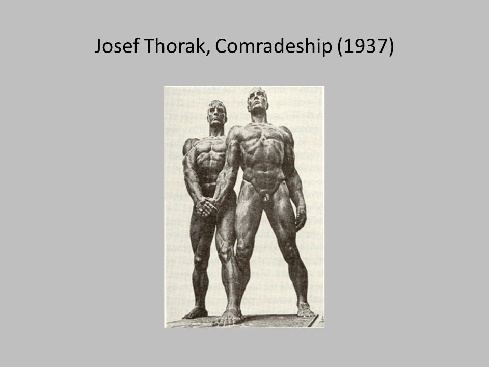 Josef Thorak, Comradeship (1937)