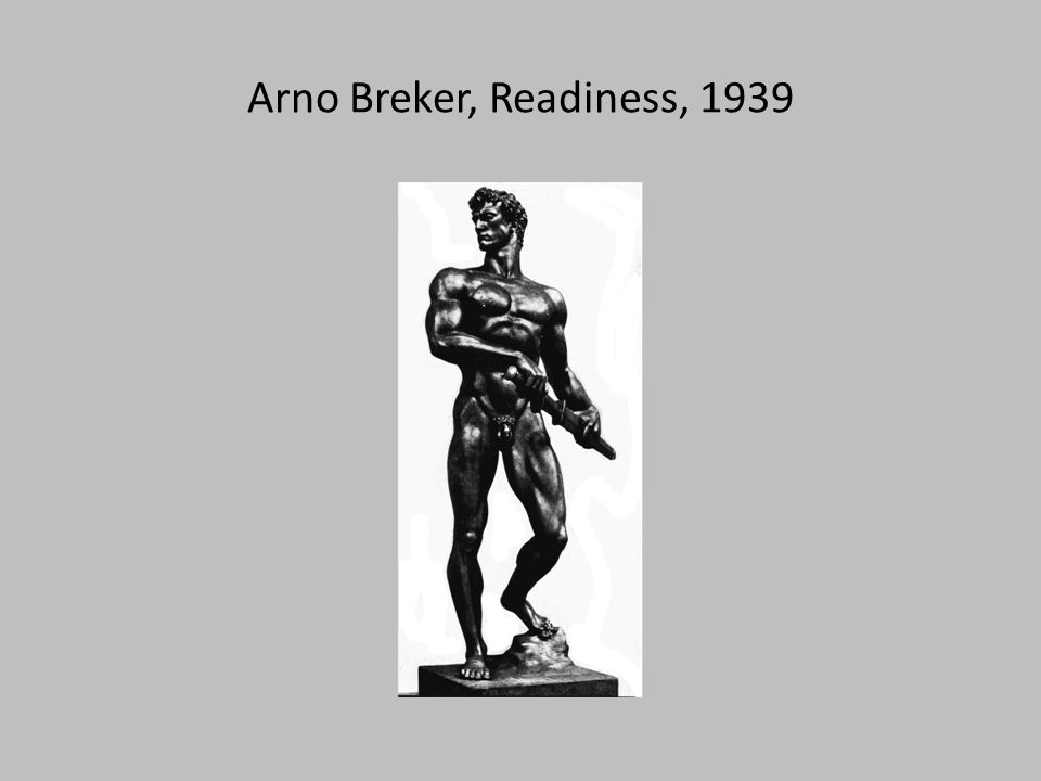 Arno Breker, Readiness, 1939