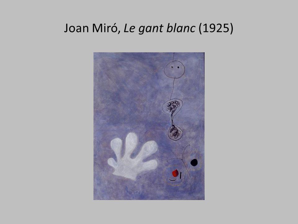 Joan Miró, Le gant blanc (1925)