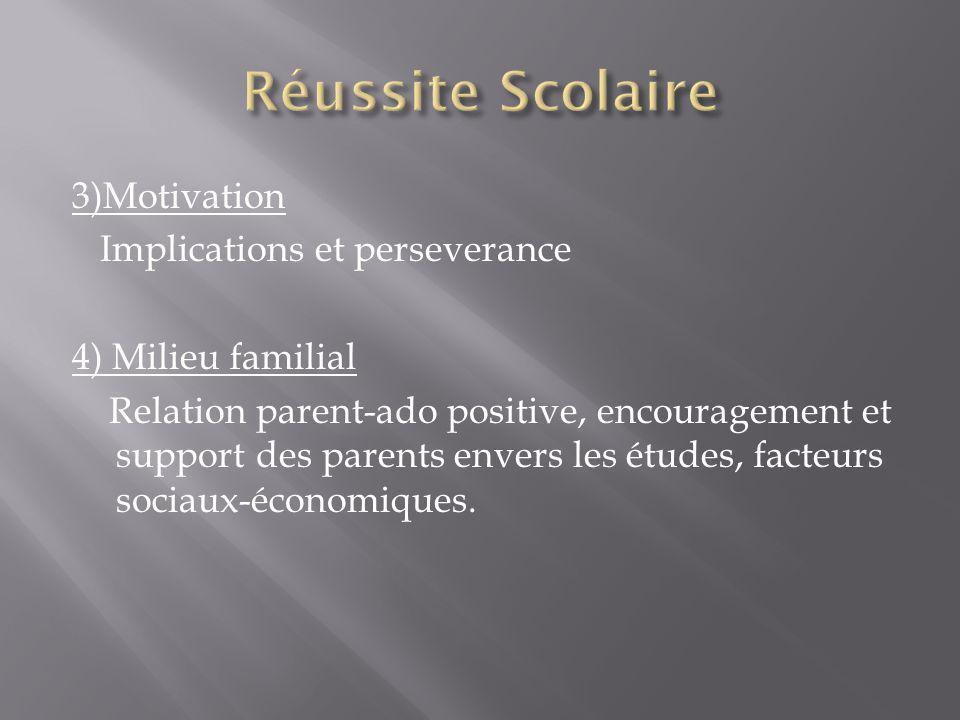 5) Socialisation Se forger de bonnes amitiés 6) Relation enseignant-étudiant Entretenir des bons rapports