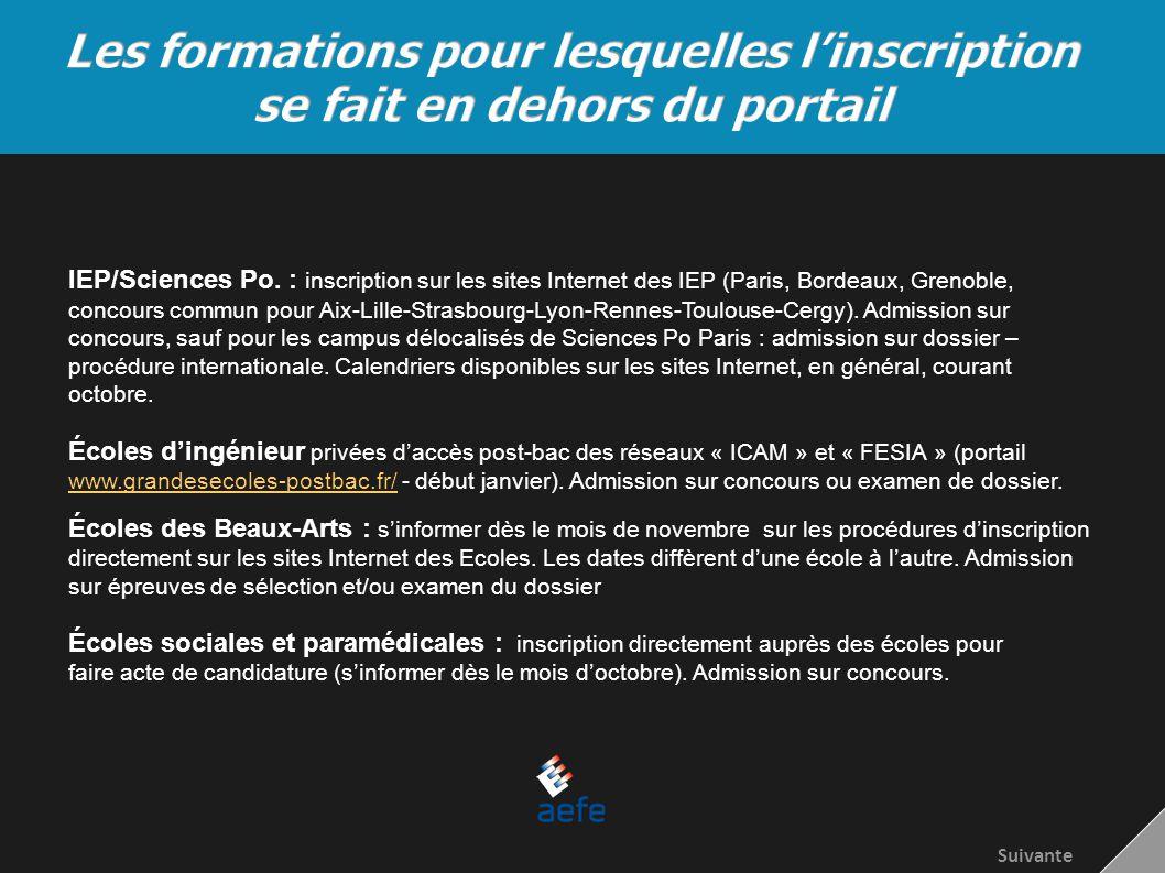 IEP/Sciences Po. : inscription sur les sites Internet des IEP (Paris, Bordeaux, Grenoble, concours commun pour Aix-Lille-Strasbourg-Lyon-Rennes-Toulou