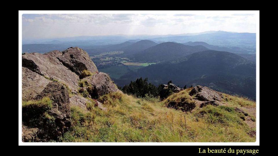 La beauté du paysage