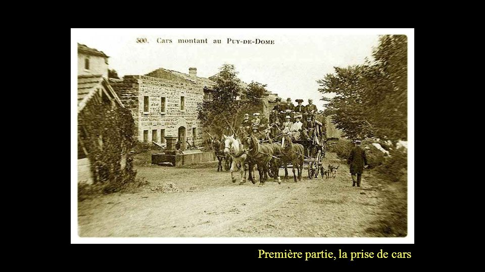 Au pied du Puy de Dôme