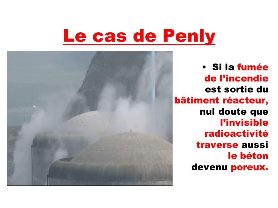 Si la fumée de l'incendie est sortie du bâtiment réacteur, nul doute que l'invisible radioactivité traverse aussi le béton devenu poreux.