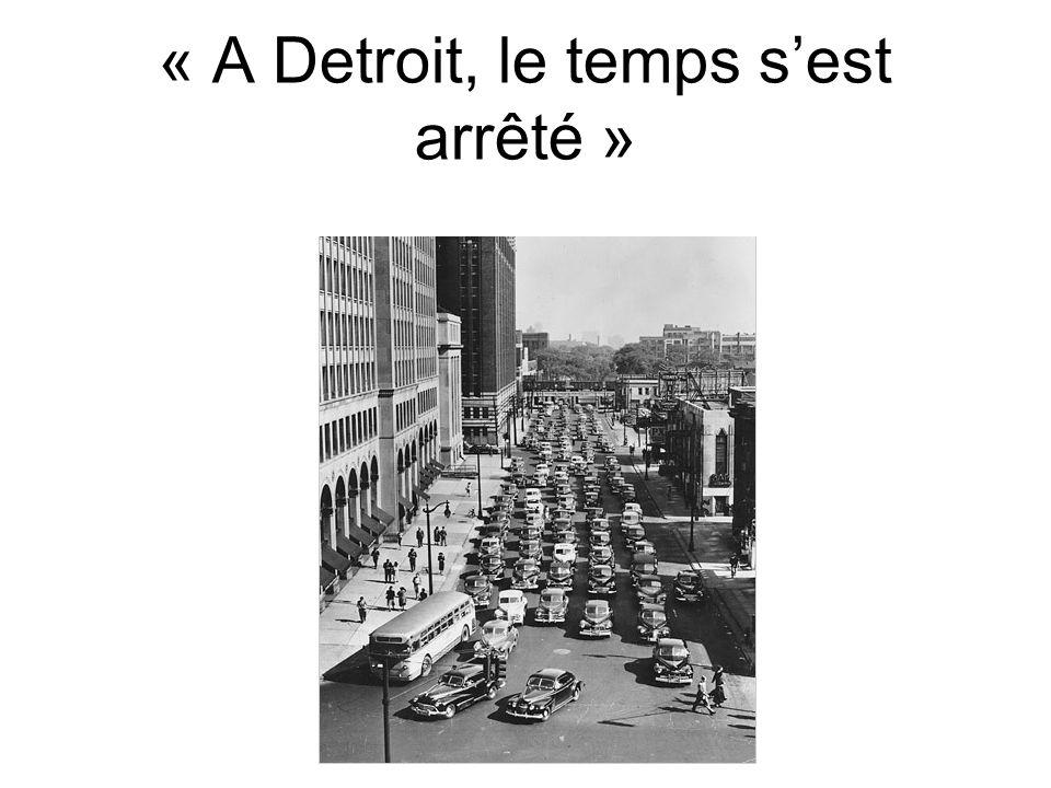 « A Detroit, le temps s'est arrêté »