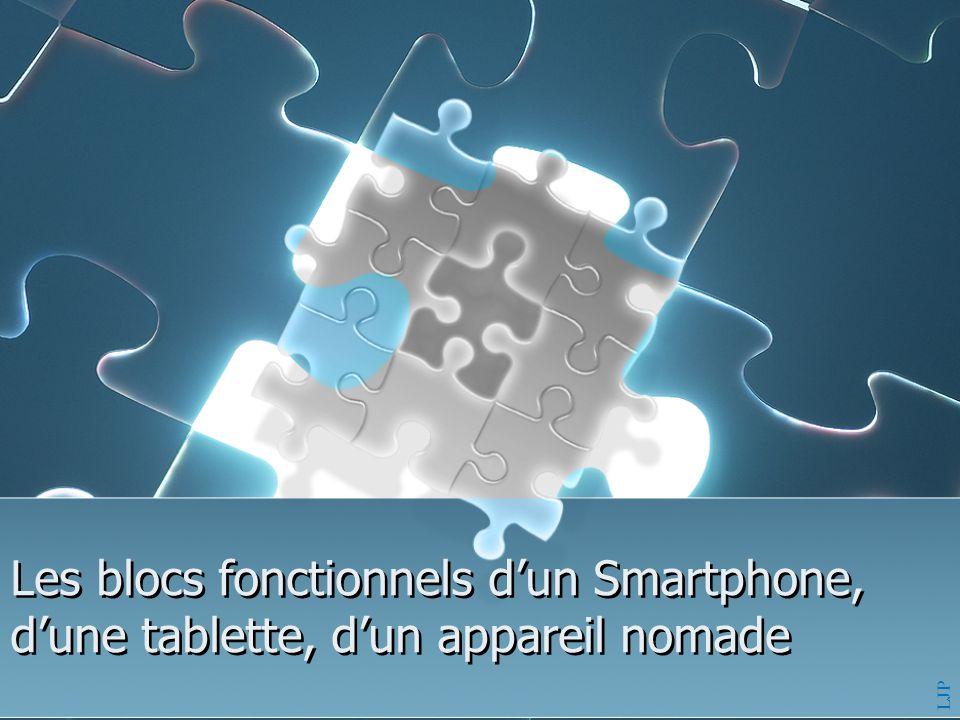 Les blocs fonctionnels d'un Smartphone, d'une tablette, d'un appareil nomade LJP