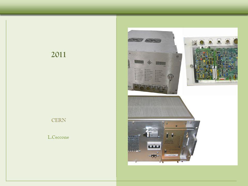 2011 CERN L.Ceccone