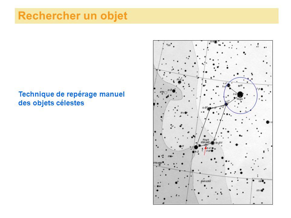 Rechercher un objet Technique de repérage manuel des objets célestes