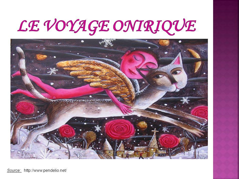 Le voyage onirique est un voyage imaginaire une évasion dans des mondes fantastiques.