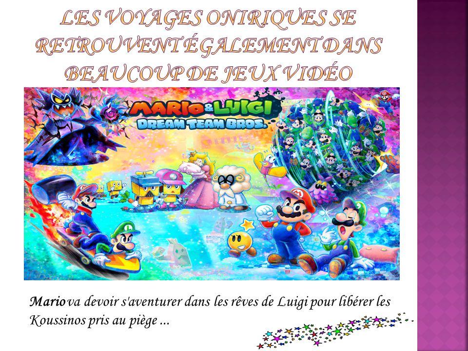 Mario va devoir s'aventurer dans les rêves de Luigi pour libérer les Koussinos pris au piège...