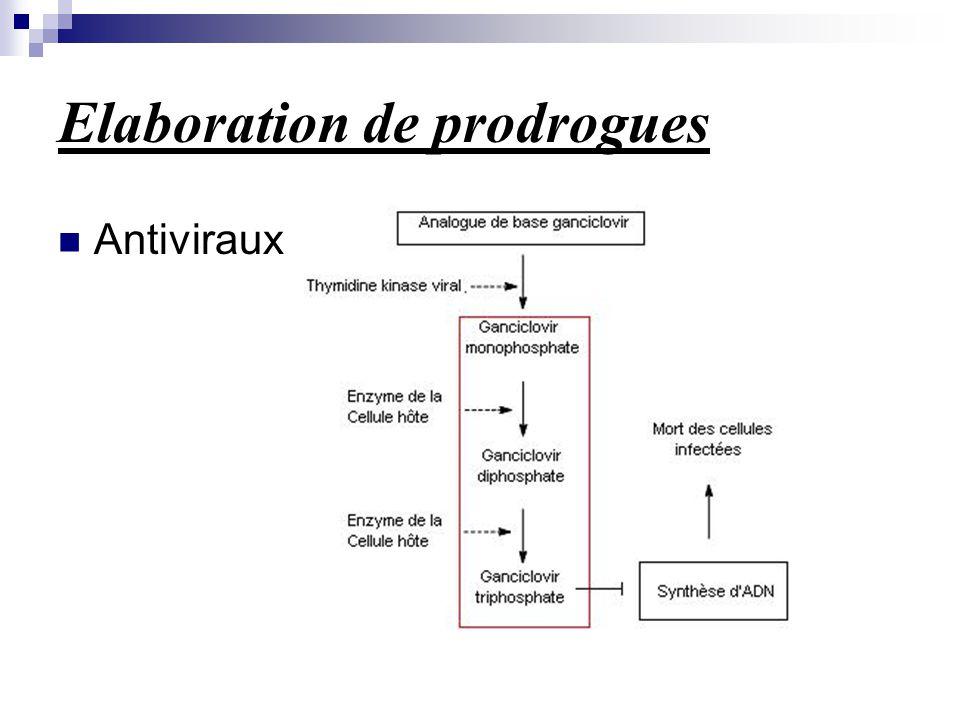 Elaboration de prodrogues Antiviraux