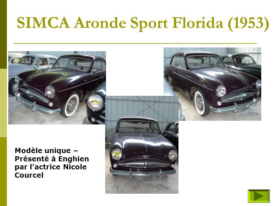 SIMCA 9-1100-Coupé sport (fin) Retour