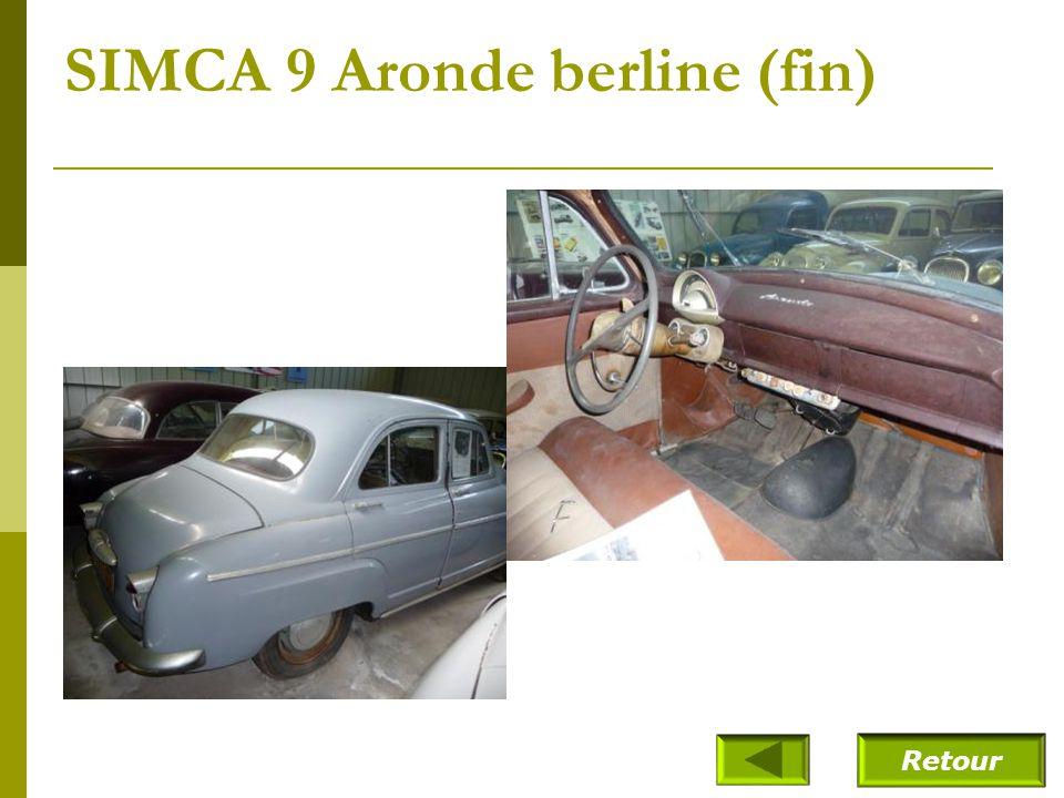 SIMCA 9 Aronde berline (1953)