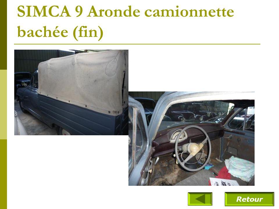 SIMCA 9 Aronde camionnette bachée (1955)