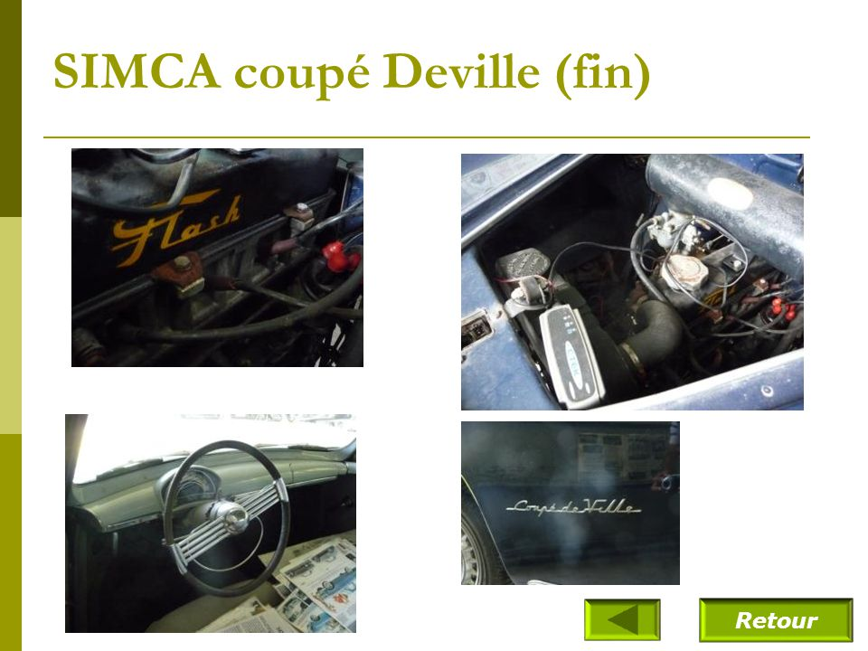 SIMCA coupé Deville (19--)