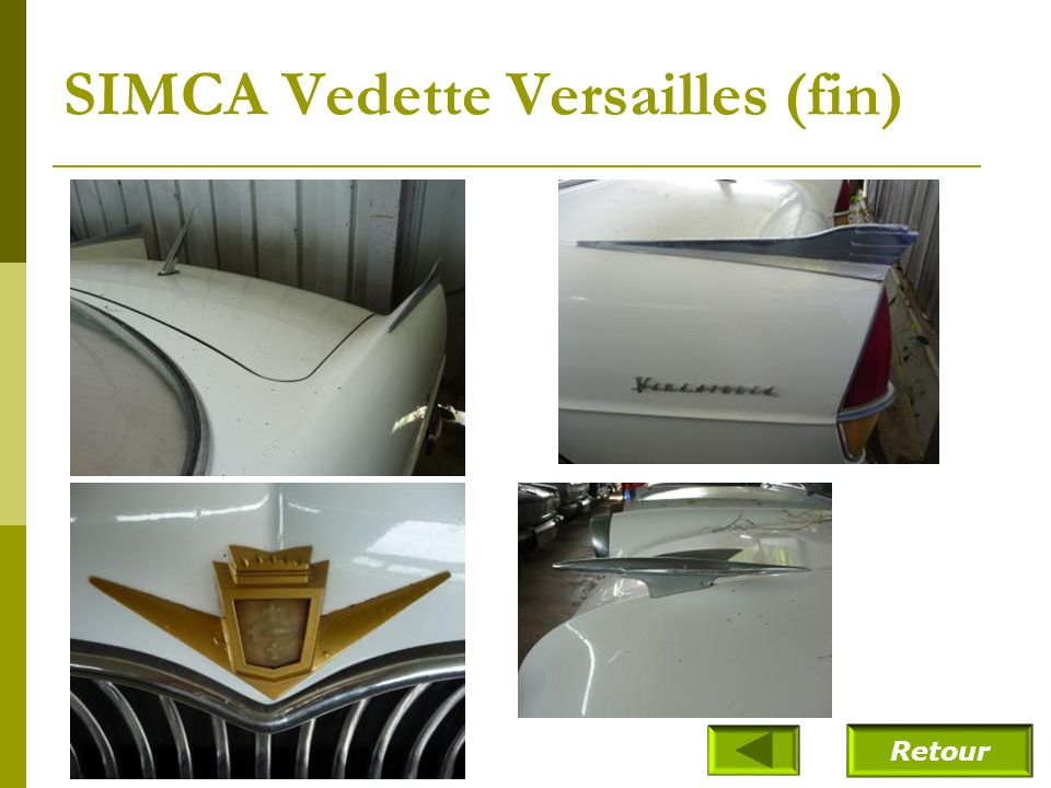 SIMCA Vedette Versailles (1955)
