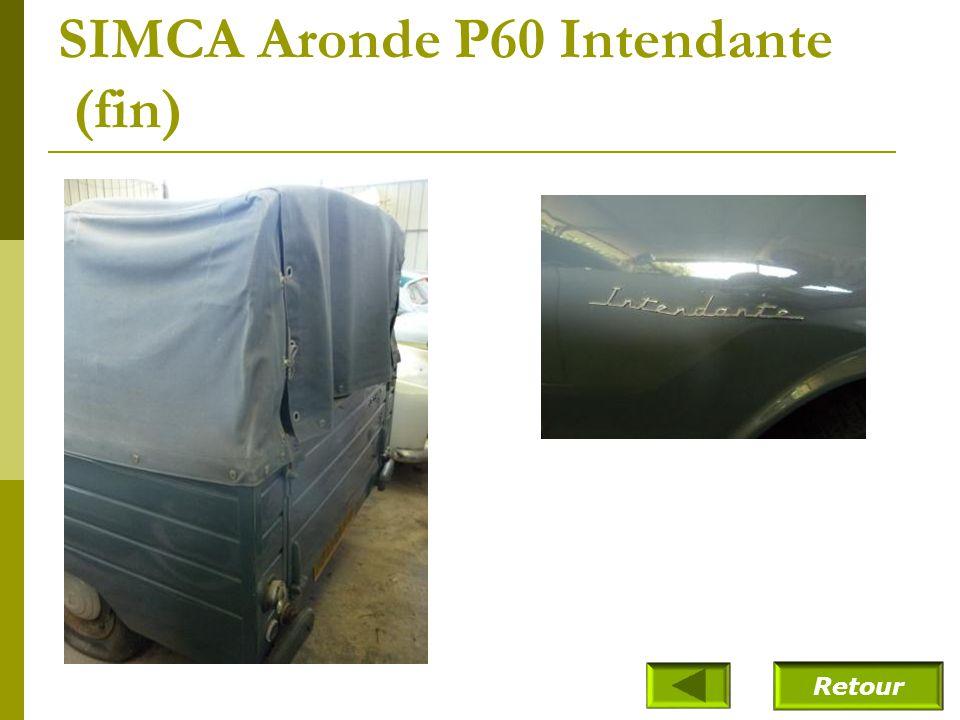SIMCA Aronde P60 Intendante (1961)