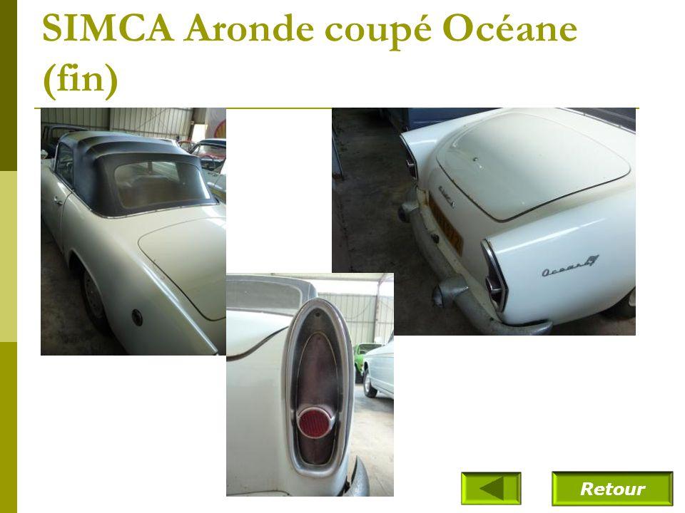 SIMCA Aronde coupé Océane (1961)