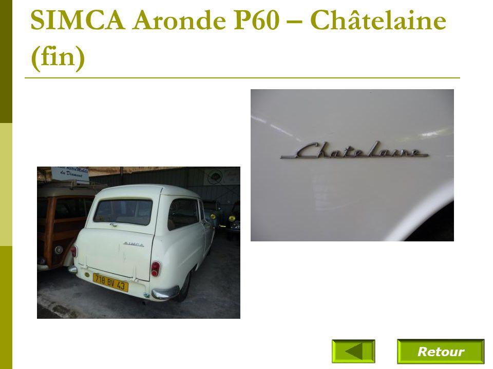 SIMCA Aronde P60 – Châtelaine (1962)