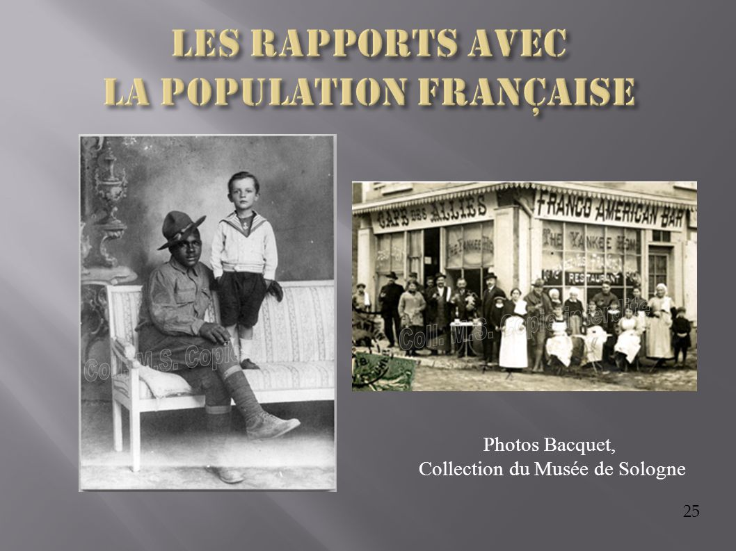 25 Photos Bacquet, Collection du Musée de Sologne