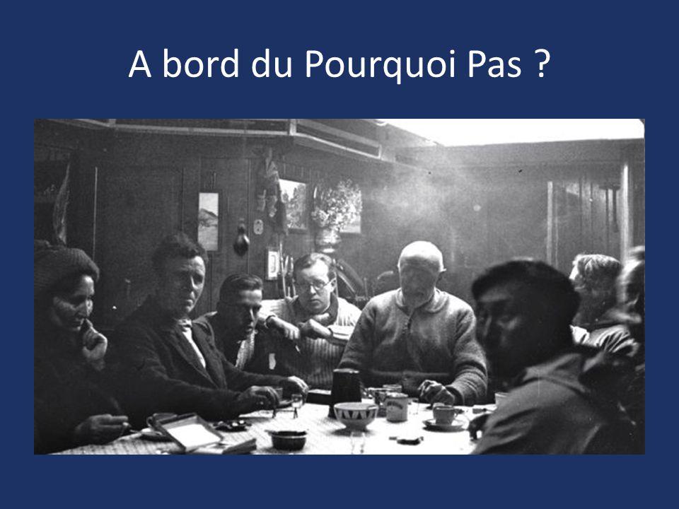 A bord du Pourquoi Pas ?