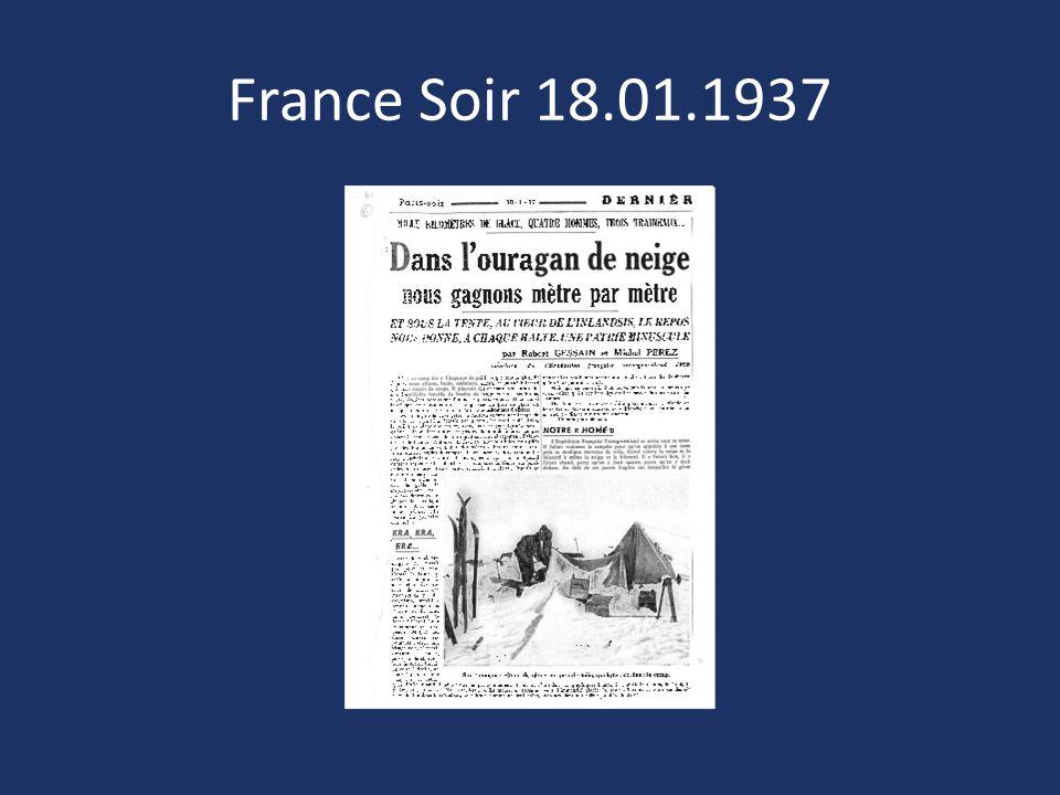 France Soir 18.01.1937
