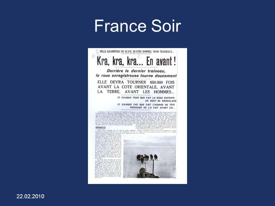 22.02.2010 France Soir