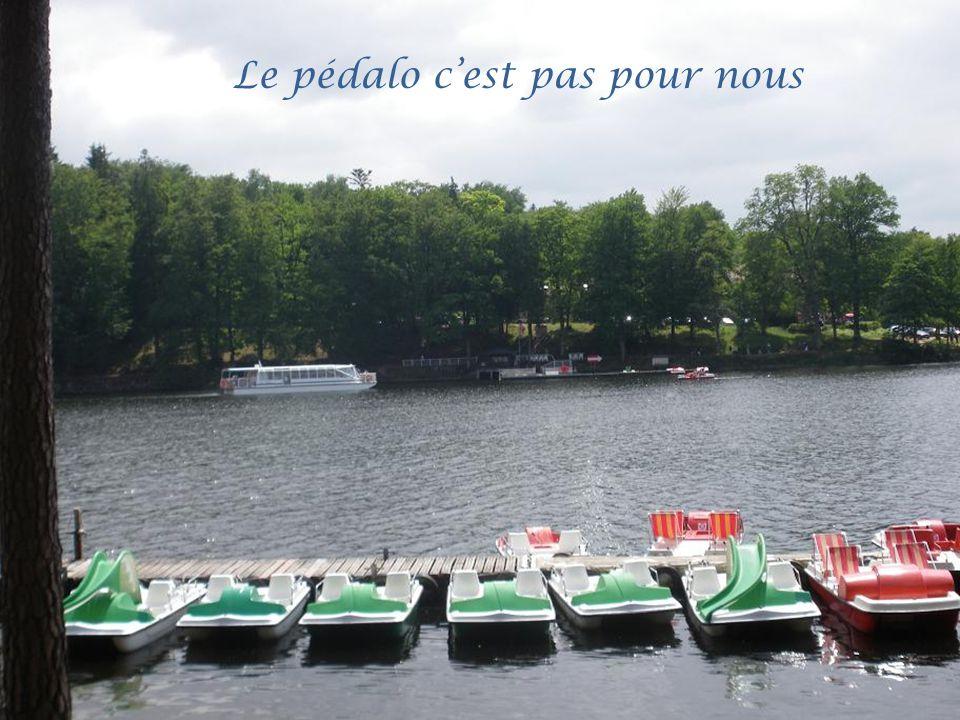 Départ pour une croisière sur le lac
