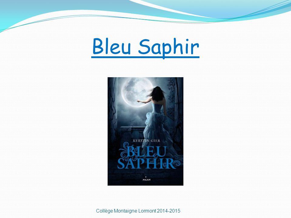 Bleu Saphir Collège Montaigne Lormont 2014-2015