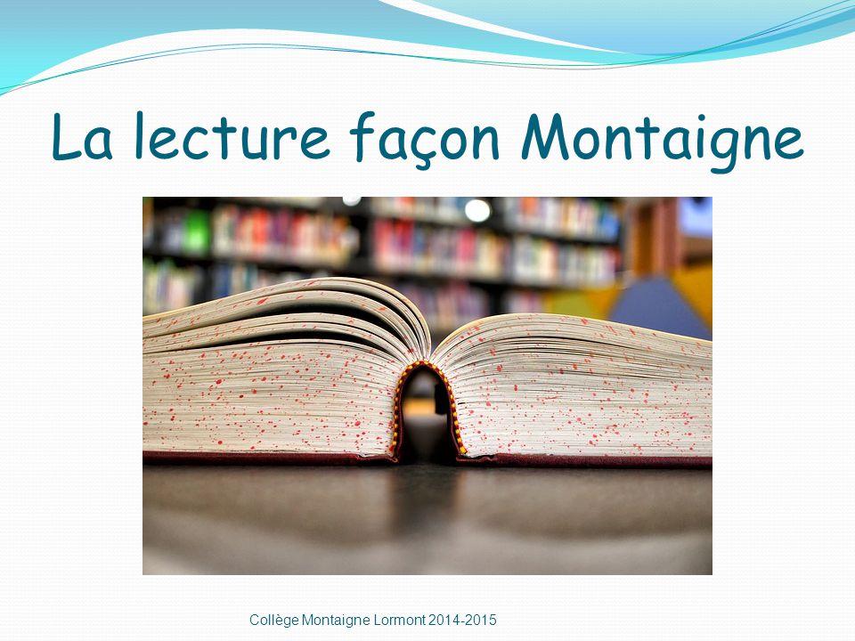 Le seigneur des anneaux Collège Montaigne Lormont 2014-2015